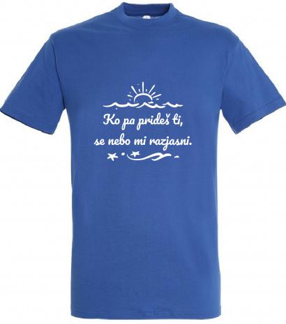 Majica M splet